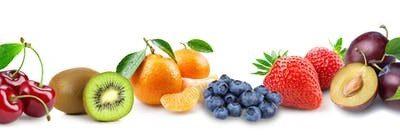 Les fruits avec modération