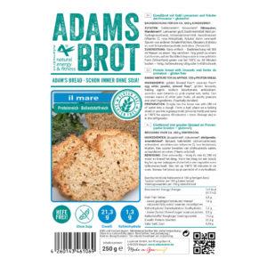ADAM'S BROT, PRÉPARATION POUR PAIN AUX HERBES DE PROVENCE SANS GLUTEN