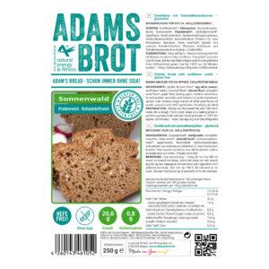 ADAM'S BROT, PRÉPARATION POUR PAIN AUX FIBRES SANS GLUTEN