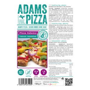 """ADAM'S BROT, PRÉPARATION POUR PÂTE A PIZZA """"ADAMO"""""""