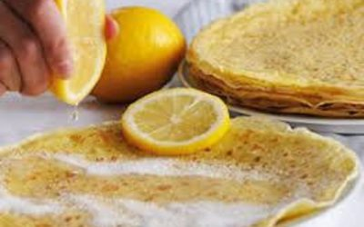 Crêpes citron